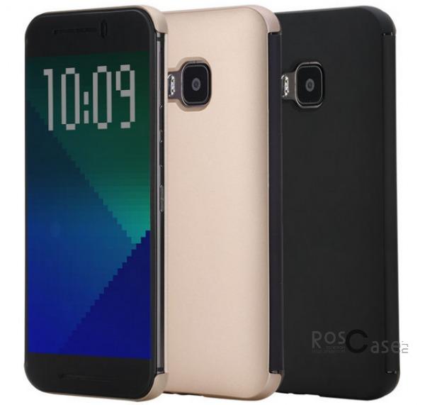 Чехол (книжка) Rock DR.V Series для HTC One / M9Описание:производитель  -  компания&amp;nbsp;Rock;разработан для HTC One / M9;материалы  -  поликарбонат, полиуретан;форма  -  чехол-книжка.&amp;nbsp;Особенности:функция Smart window;декоративная фактура;имеются все функциональные разъемы;на нем не видны &amp;laquo;пальчики&amp;raquo;;защита от ударов и царапин.<br><br>Тип: Чехол<br>Бренд: ROCK<br>Материал: Натуральная кожа