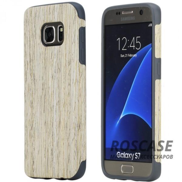 Деревянная накладка Rock Origin Series (Grained) для Samsung G930F Galaxy S7 (Nordic Walnut)Описание:от бренда&amp;nbsp;Rock;подходит для Samsung G930F Galaxy S7;тип: накладка;материалы: термополиуретан и натуральное дерево.Особенности:защита корпуса от повреждений;фактура шероховатая;фиксация надежная;текстура приятная на ощупь;оригинальный дизайн.<br><br>Тип: Чехол<br>Бренд: ROCK<br>Материал: TPU