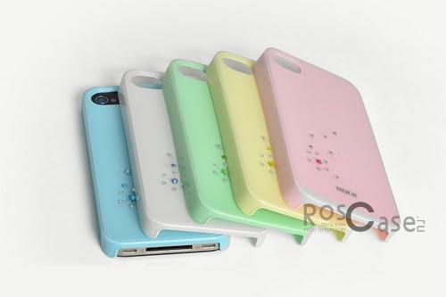 Фотография #Пластиковая накладка ROCK Summer Flowery Series для Iphone 4/4S