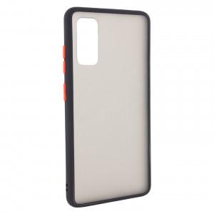 Противоударный матовый полупрозрачный чехол  для Samsung Galaxy S20 Plus