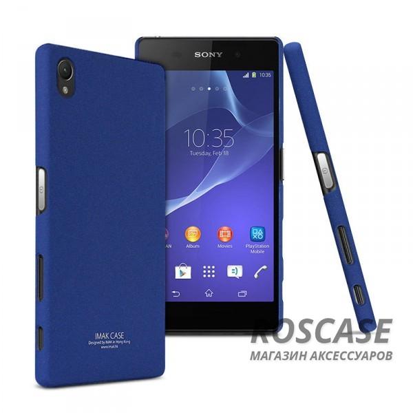 Пластиковая накладка IMAK Cowboy series для Sony Xperia Z5 Premium (Синий)Описание:накладка фирмы IMAK;предназначена для Sony Xperia Z5 Premium;изготовлена из поликарбоната;чехол типа &amp;laquo;накладка&amp;raquo;.Особенности:выполняет защитную функцию;имеет современный дизайн;ультратонкий, но прочный;не подвержен деформациям.<br><br>Тип: Чехол<br>Бренд: iMak<br>Материал: Пластик