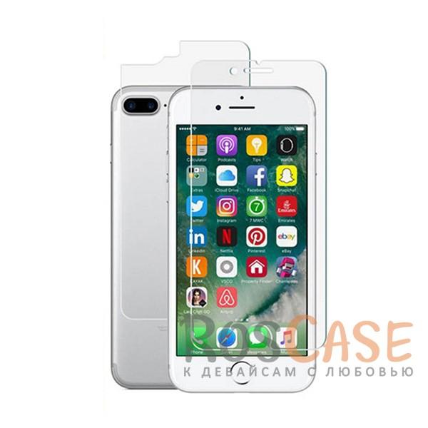Гибкое защитное стекло BestSuit Flexible для Apple iPhone 7 plus (5.5) (Прозрачная)Описание:производитель -&amp;nbsp;BestSuit;идеально совместимо с Apple iPhone 7 plus (5.5);материал - полимер;тип - защитное стекло.Особенности:олеофобное покрытие;высокая прочность - 9H;ультратонкое;защита от ультрафиолетового излучения;прозрачное;имеет все необходимые вырезы;защита от ударов и царапин;защита на заднюю панель.<br><br>Тип: Защитное стекло<br>Бренд: Epik
