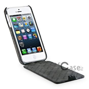 Фото кожаного чехла TETDED Wild Series для Apple iPhone 5 - в открытом виде