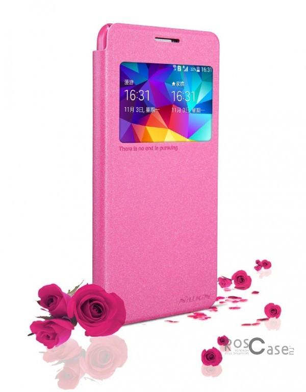 Кожаный чехол (книжка) Nillkin Sparkle Series для Samsung G530H/G531H Galaxy Grand Prime (Розовый)Описание:Изготовлен компанией&amp;nbsp;Nillkin;Спроектирован персонально для Samsung G530H/G531H Galaxy Grand Prime;Материал: синтетическая высококачественная кожа и полиуретан;Форма: чехол в виде книжки.Особенности:Исключается появление царапин и возникновение потертостей;Восхитительная амортизация при любом ударе;Фактурная поверхность;Элегантное окошко;Не подвержен деформации;Непритязателен в уходе.<br><br>Тип: Чехол<br>Бренд: Nillkin<br>Материал: Искусственная кожа