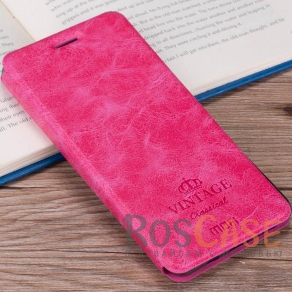 MOFI Vintage | Кожаный чехол-книжка с карманом для Meizu M5s (Малиновый)Описание:компания-производитель: Mofi;совместимость: Meizu M5s;материалы: искусственная кожа, термополиуретан;функция подставки;отделение для карточек или купюр;формат: чехол-книжка;винтажный стиль.<br><br>Тип: Чехол<br>Бренд: Mofi<br>Материал: Искусственная кожа