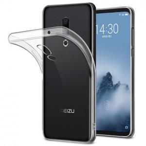 Прозрачный силиконовый чехол для Meizu 16 Plus / 16th Plus
