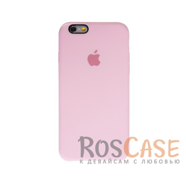 Оригинальный силиконовый чехол для Apple iPhone 6/6s (4.7) (Светло-розовый)Описание:материал - силикон;совместим с Apple iPhone 6/6s (4.7);тип чехла - накладка.<br><br>Тип: Чехол<br>Бренд: Epik<br>Материал: Силикон