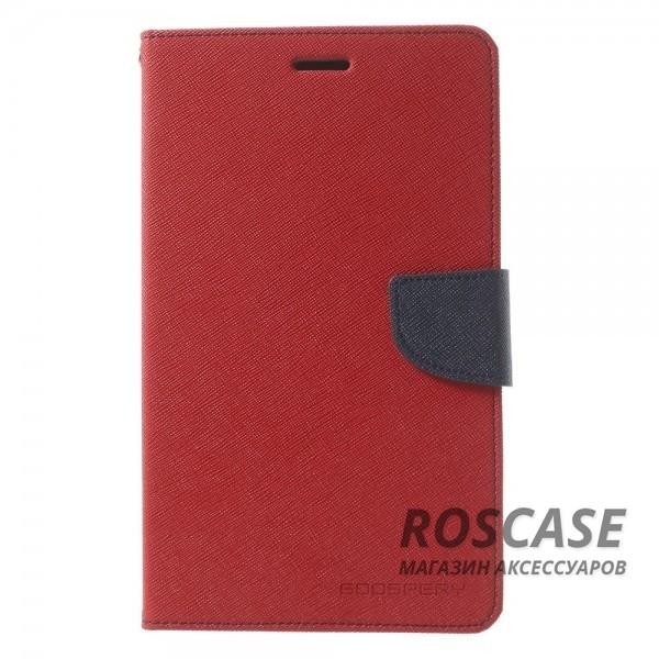Чехол (книжка) Mercury Fancy Diary series для Samsung Galaxy Tab S2 8.0 (Красный / Синий)Описание:производитель  -  бренд&amp;nbsp;Mercury;совместим с Samsung Galaxy Tab S2 8.0;материалы  -  искусственная кожа, термополиуретан;форма  -  чехол-книжка.&amp;nbsp;Особенности:рельефная поверхность;все функциональные вырезы в наличии;внутренние кармашки;магнитная застежка;защита от механических повреждений;трансформируется в подставку.<br><br>Тип: Чехол<br>Бренд: Mercury<br>Материал: Искусственная кожа