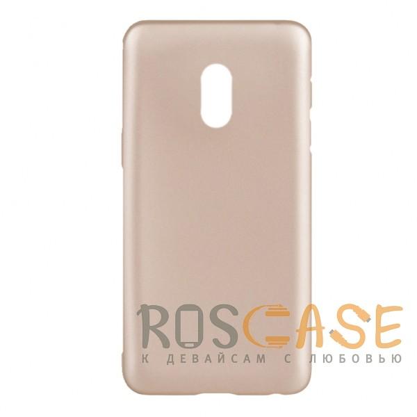 Фото Золотой J-Case THIN   Гибкий силиконовый чехол для Meizu 15 Lite / M15 (China)