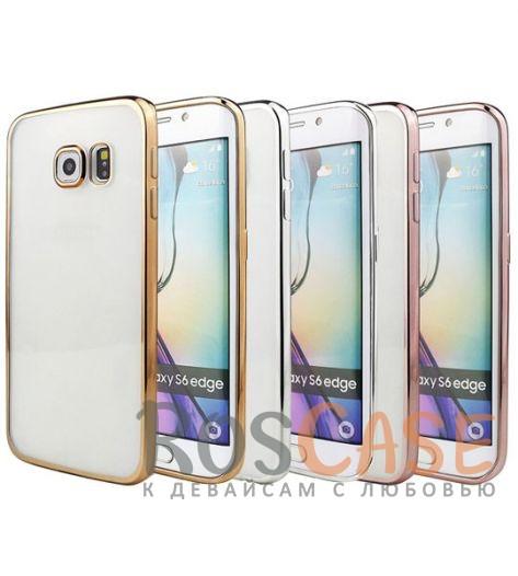 Прозрачный силиконовый чехол для Samsung G925F Galaxy S6 Edge с глянцевой окантовкойОписание:подходит для Samsung G925F Galaxy S6 Edge;материал - силикон;тип - накладка.Особенности:глянцевая окантовка;прозрачный центр;гибкий;все вырезы в наличии;не скользит в руках;ультратонкий.<br><br>Тип: Чехол<br>Бренд: Epik<br>Материал: Силикон