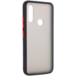 Противоударный матовый полупрозрачный чехол  для Huawei Y6P