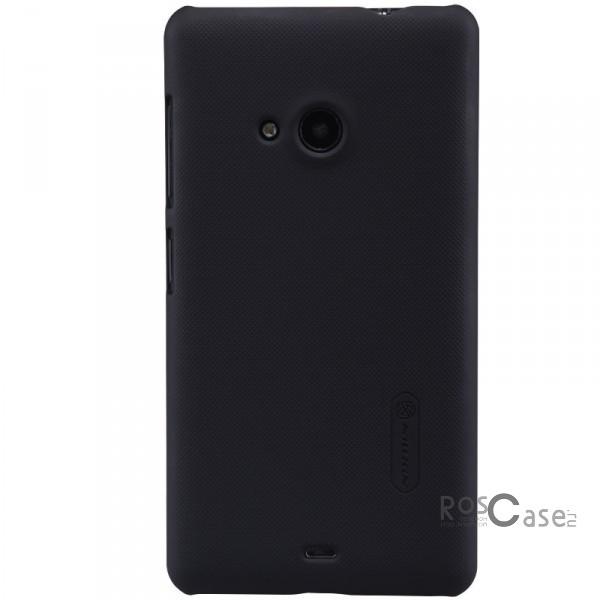 Чехол Nillkin Matte для Microsoft Lumia 535 (+ пленка) (Черный)Описание:Чехол изготовлен компанией&amp;nbsp;Nillkin;Спроектирован для Microsoft Lumia 535;Материал  -  специальный закаленный поликарбонат;Форма  -  накладка.Особенности:Исключено появление потертостей и возникновение царапин;В комплекте поставляется глянцевая пленка;Имеет текстурную матовую поверхность;Выполнен в элегантном изысканном стиле.Долговечен;<br><br>Тип: Чехол<br>Бренд: Nillkin<br>Материал: Поликарбонат