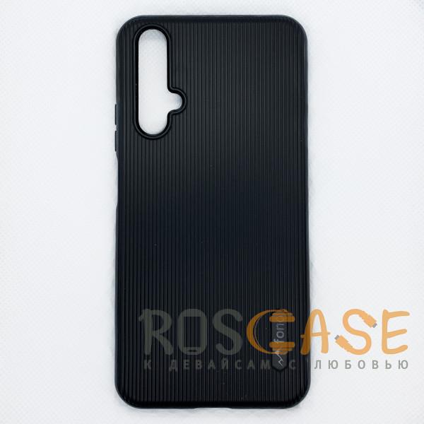 Фото Черный Силиконовая накладка Fono для Huawei Honor 20 / Nova 5T