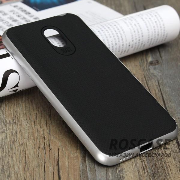 Чехол iPaky TPU+PC для Meizu M2 Note (Черный / Серебряный)Описание:производитель - iPaky;совместим с Meizu M2 Note;материал: термополиуретан, поликарбонат;форма: накладка на заднюю панель.Особенности:эластичный;рельефная поверхность;прочная окантовка;ультратонкий;надежная фиксация.<br><br>Тип: Чехол<br>Бренд: Epik<br>Материал: TPU