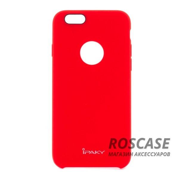 Силиконовая накладка iPaky Original Series для Apple iPhone 6/6s (4.7) (Красный)Описание:производитель:&amp;nbsp;iPaky;совместим с Apple iPhone 6/6s (4.7);материал: силикон;форма: накладка.&amp;nbsp;Особенности:ультратонкое исполнение;полный набор функциональных вырезов;высокий уровень защиты;не скользит в руках;плотное прилегание;надежная фиксация.<br><br>Тип: Чехол<br>Бренд: Epik<br>Материал: Силикон