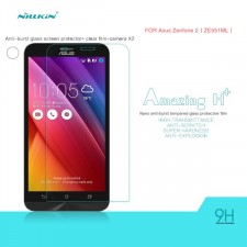 фотография Защитное стекло Nillkin Anti-Explosion Glass Screen (H+)(з.края)для Asus Zenfone 2 (ZE551ML/ZE550ML)