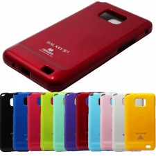 фото TPU чехол Mercury Jelly Color series для Samsung i9100 Galaxy S2/i9105 Galaxy S2 Plus