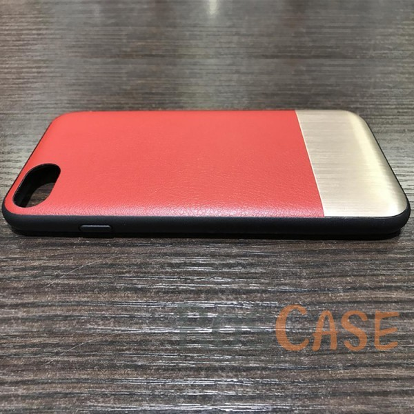 фото Красный Накладка Devia Commander Case с металлической вставкой для Apple iPhone 7 (4.7