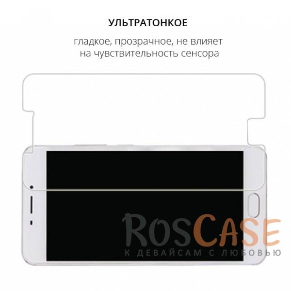 Изображение Прозрачное защитное стекло с закругленными краями и олеофобным покрытием для Meizu M5 Note