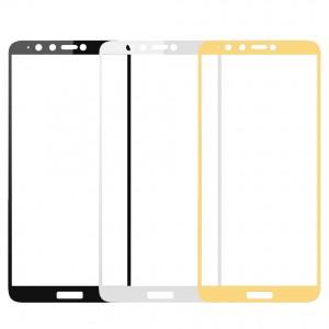 Artis 2.5D | Цветное защитное стекло на весь экран для Huawei Y9 (2018) / Enjoy 8 Plus на весь экран