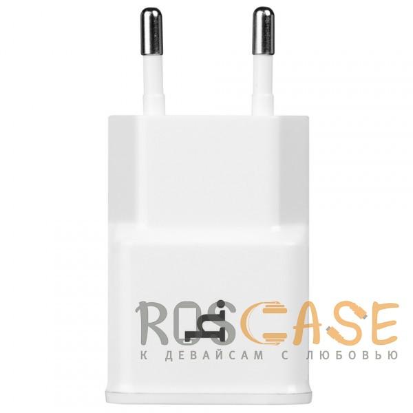 Фото HOCO UH202   Компактное сетевое зарядное устройство с двумя разъемами USB (2,1А)