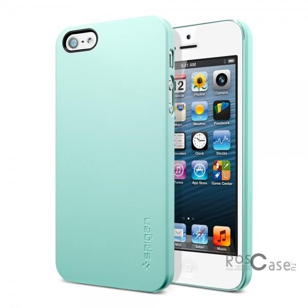 Пластиковая накладка SGP Ultra Thin Air Series для Apple iPhone 5/5S/SE (+ пленка) (Зеленый / Mint Green / SGP09539)Описание:бренд:&amp;nbsp;SGP;совместим с Apple iPhone 5/5S/5SE;используемые материалы: поликарбонат;форма чехла: накладка.&amp;nbsp;Особенности:соблюдено полное количество прорезей под функциональные объекты;тонкое исполнение;амортизация возникающей вибрации от падения;широкая палитра цветовых оттенков;пленка в комплекте;идеально прилегает.<br><br>Тип: Чехол<br>Бренд: SGP<br>Материал: Пластик