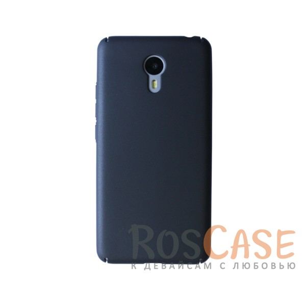 Пластиковая накладка soft-touch с защитой торцов Joyroom для Meizu M3 Note (Черный)<br><br>Тип: Чехол<br>Бренд: Epik<br>Материал: Пластик
