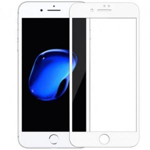 """Тонкое олеофобное защитное стекло с закруленными краями из гибкого силикона для Apple iPhone 8 Plus (5.5"""")"""