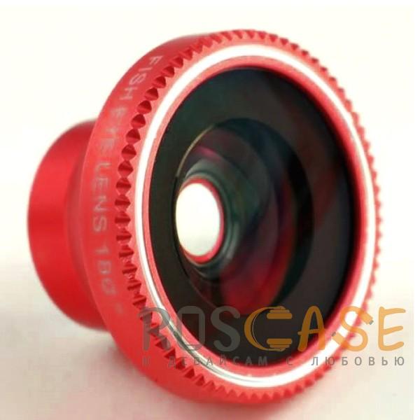 Фотография Красный Fisheye 180° ib-A8002