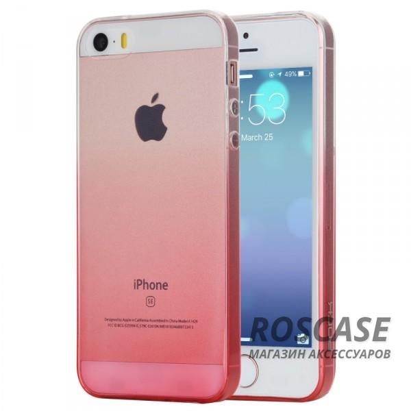 TPU чехол ROCK Iris series для Apple iPhone 5/5S/SE (Розовый / Transparent pink)Описание:производитель  -  Rock;форм-фактор  -  чехол-накладка;материалы  -  термополиуретан (TPU);совместим с Apple iPhone 5/5S/SE.Особенности:тип защиты  -  бортики, тыльная панель;выемки под внешние порты, камеру, колонку, регулятор громкостилегкая очистка;тонкий дизайн.<br><br>Тип: Чехол<br>Бренд: ROCK<br>Материал: TPU