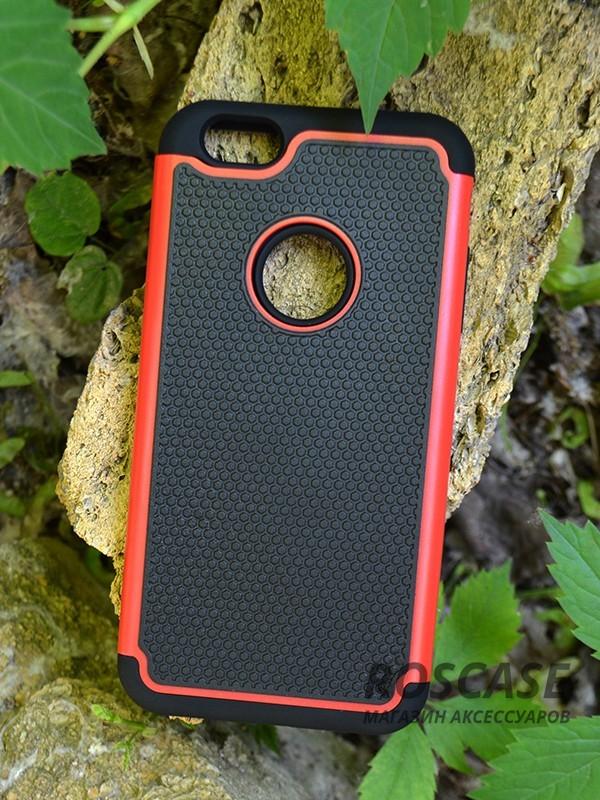 TPU+PC чехол TTX для Apple iPhone 6/6s plus (5.5) (Красный)Описание:производитель  -  TTX;разработан для Apple iPhone 6/6s plus (5.5);материалы  -  полиуретан, поликарбонат;тип  -  накладка.&amp;nbsp;Особенности:тонкий и легкий;вставки из поликарбоната;в наличии все функциональные вырезы;легкая очистка;хорошее сцепление с поверхностями;защищает от механических повреждений;легкая установка и удаление.<br><br>Тип: Чехол<br>Бренд: TTX<br>Материал: TPU