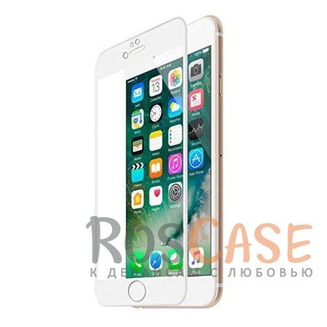 Защитное 3D стекло Vmax (CP+) на весь экран для Apple iPhone 7 (4.7) (Белый)Описание:компания&amp;nbsp;VMAX;совместимо с Apple iPhone 7 (4.7);материал: закаленное стекло;тип: защитное стекло на экран.Особенности:полностью закрывает дисплей;толщина - 0,3 мм;цветная рамка;прочность 9H;покрытие анти-отпечатки;защита от ударов и царапин.<br><br>Тип: Защитное стекло<br>Бренд: Vmax