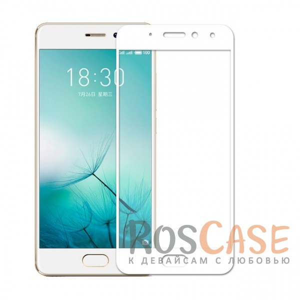 Защитное стекло с цветной рамкой на весь экран с олеофобным покрытием анти-отпечатки для Meizu Pro 7 (Белый)Описание:совместимо с Meizu Pro 7;материал: закаленное стекло;тип: защитное стекло на экран;полностью закрывает дисплей;толщина - 0,3 мм;цветная рамка;прочность 9H;покрытие анти-отпечатки;защита от ударов и царапин.<br><br>Тип: Защитное стекло<br>Бренд: Epik