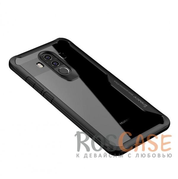Фотография Черный iPaky Luckcool | Чехол для Huawei Mate 10 pro с цветными силиконовыми вставками