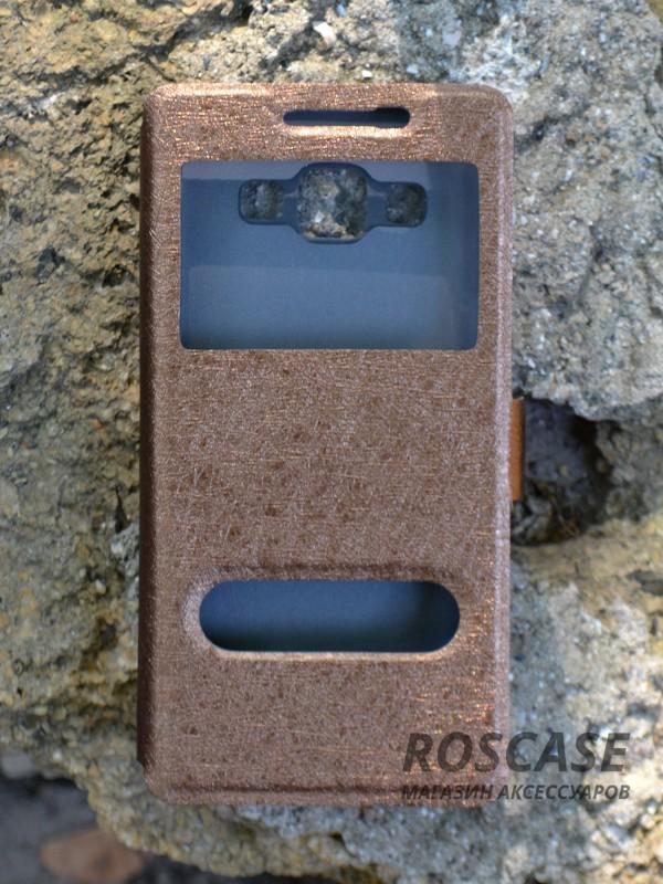 Чехол (книжка) Smart Case Series для Samsung A500H / A500F Galaxy A5 (Коричневый)Описание:производитель -&amp;nbsp;Epik;совместим с Samsung A500H / A500F Galaxy A5;материал - поликарбонат + кожзам;форма - книжка.Особенности:ультратонкий дизайн;устойчивость к деформации;гладкая поверхность;окошко в обложке;магнитная застежка;наличие необходимых вырезов.<br><br>Тип: Чехол<br>Бренд: Epik<br>Материал: Искусственная кожа