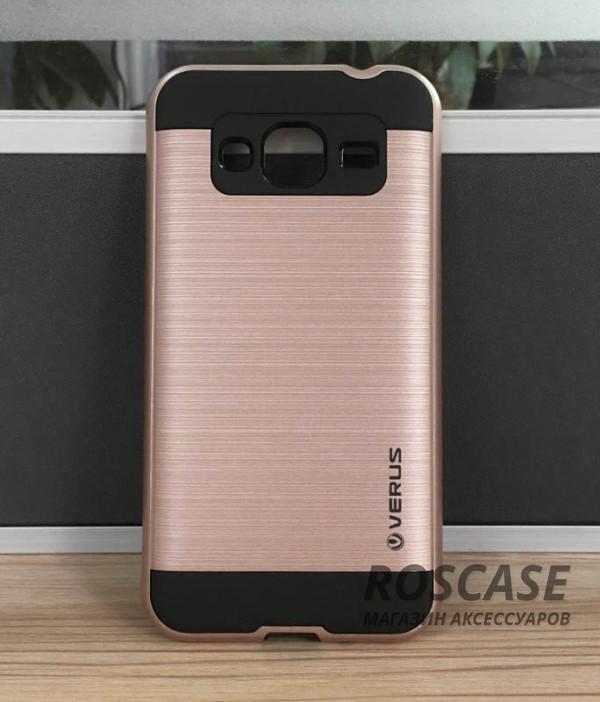 Двухслойный ударопрочный чехол с защитными бортами экрана Verge для Samsung G530H Galaxy Grand Prime (Золотой)Описание:совместимость  -  смартфон Samsung G530H Galaxy Grand Prime;материал  -  поликарбонат;форм-фактор  -  накладка;Особенности:надежная фиксация смартфона;функция подставки;покрытие, смягчающее удар и противодействующее появлению пятен и отпечатков;не деформируется;имеет все необходимые функциональные вырезы;легко чистится.<br><br>Тип: Чехол<br>Бренд: Epik<br>Материал: TPU