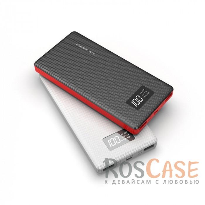 Фото Портативное зарядное устройство в противоударном корпусе с ЖК дисплеем 10000mAh (2 USB)