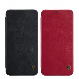 Nillkin Qin натур. кожа | Чехол-книжка для OnePlus 5T