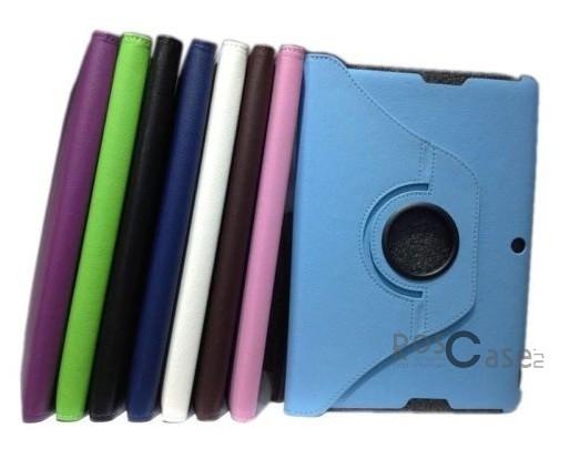 Кожаный чехол-книжка TTX (360 градусов) для Asus MeMO Pad FHD ME302CОписание:производитель  -  TTX;разработан специально для Asus MeMO Pad FHD ME302C;материалы  - кожзам и микрофибра;форма  -  чехол-книжка.&amp;nbsp;Особенности:имеет функцию вращения на 360?;присутствуют все функциональные разъемы;превращается в подставку;защищает от сора, царапин, ударов.<br><br>Тип: Чехол<br>Бренд: TTX<br>Материал: Искусственная кожа