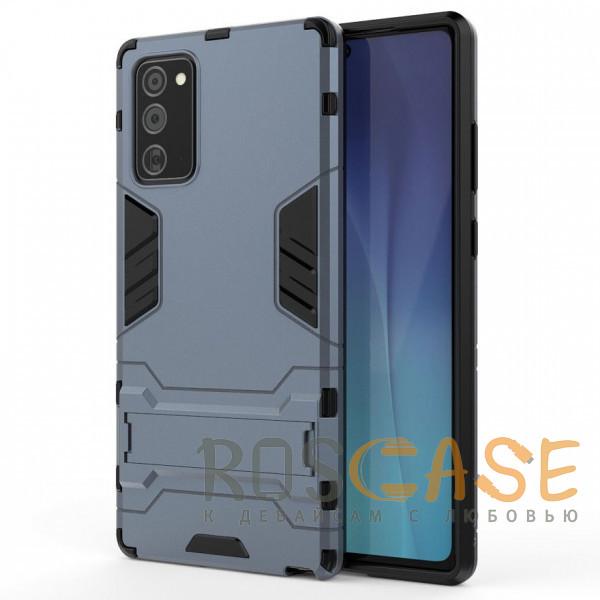 Фото Синий Transformer   Противоударный чехол для Samsung Galaxy Note 20 с мощной защитой корпуса