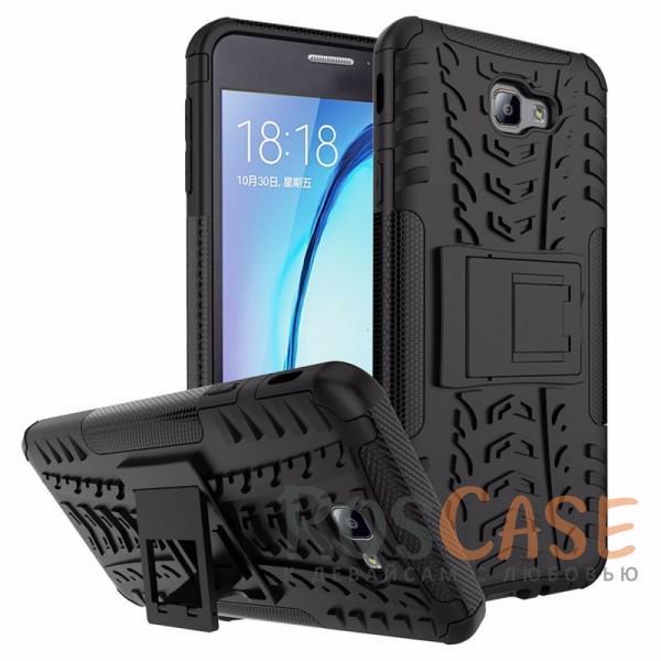 Противоударный двухслойный чехол Shield Samsung G570F Galaxy J5 Prime (2016) с подставкой (Черный)Описание:совместим с Samsung G570F Galaxy J5 Prime (2016);удобная функция подставки;материал - поликарбонат, термополиуретан;тип - накладка.<br><br>Тип: Чехол<br>Бренд: Epik<br>Материал: TPU