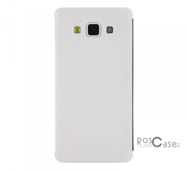 Чехол (книжка) Rock DR.V Series для Samsung A700H / A700F Galaxy A7 (Бежевый / Cream)Описание:производитель  -  компания&amp;nbsp;Rock;разработан для Samsung A700H / A700F Galaxy A7;материалы  -  поликарбонат, полиуретан;форма  -  чехол-книжка.&amp;nbsp;Особенности:функция Smart window;декоративная фактура;имеются все функциональные разъемы;на нем не видны &amp;laquo;пальчики&amp;raquo;;защита от ударов и царапин.<br><br>Тип: Чехол<br>Бренд: ROCK<br>Материал: Натуральная кожа