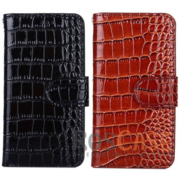 Лаковый рельефный чехол-книжка с текстурой кожи и магнитной застёжкой для Xiaomi Redmi 4XОписание:тип - чехол-книжка;материал - искусственная кожа, силикон;совместимость -&amp;nbsp;Xiaomi Redmi 4X;защита со всех сторон;предотвращает появление царапин, сколов, трещин;лаковая рельефная поверхность;приятен на ощупь;магнитная застежка;силиконовая посадочная корзина;все необходимые вырезы.<br><br>Тип: Чехол<br>Бренд: Epik<br>Материал: Искусственная кожа