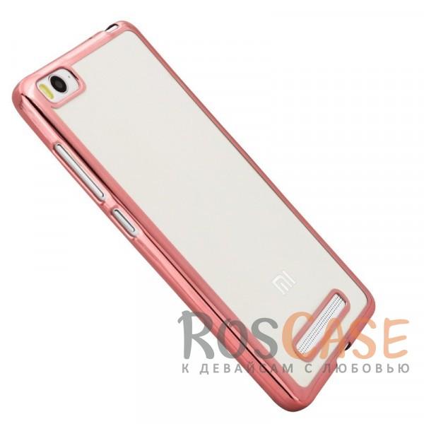 Прозрачный силиконовый чехол для Xiaomi Mi 4i / Mi 4c с глянцевой окантовкой (Розовый)Описание:подходит для Mi 4i / Mi 4c;материал - силикон;тип - накладка.Особенности:глянцевая окантовка;прозрачный центр;гибкий;все вырезы в наличии;не скользит в руках;ультратонкий.<br><br>Тип: Чехол<br>Бренд: Epik<br>Материал: TPU