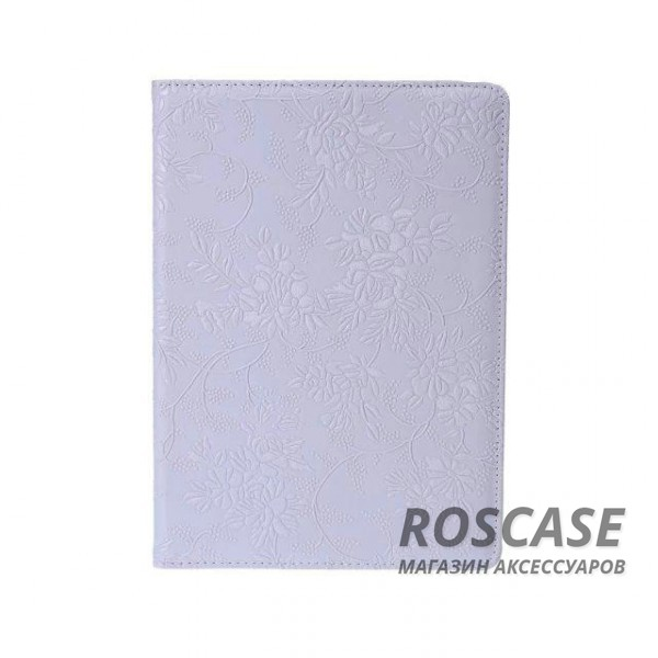 Кожаный чехол-книжка TTX (Flower) (360 градусов) для Apple iPad Air 2 (Белый)Описание:бренд:&amp;nbsp;TTX;совместим с Apple iPad Air 2;используемые материалы: микрофибра, искусственная кожа;форма чехла: книжка.&amp;nbsp;Особенности:фактурная поверхность;разворот на 360 градусов;полный набор функциональных прорезей;эргономичные свойства - подставка;изысканный дизайн.<br><br>Тип: Чехол<br>Бренд: TTX<br>Материал: Искусственная кожа