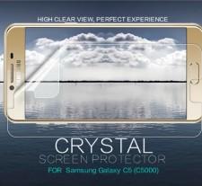 Nillkin Crystal | Прозрачная защитная пленка для Samsung Galaxy C5