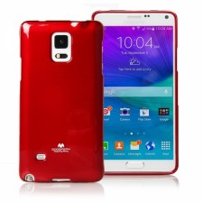 фото TPU чехол Mercury Jelly Color series для Samsung N910H Galaxy Note 4