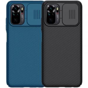 Nillkin CamShield   Пластиковый чехол с защитой камеры для Xiaomi Redmi Note 10 / 10S