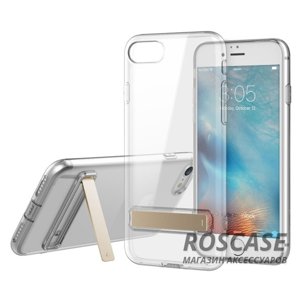 TPU чехол ROCK Slim Jacket с функцией подставки для Apple iPhone 7 plus / 8 plus (5.5) (Бесцветный (прозрачный))Описание:бренд: Rock;совместим с Apple iPhone 7 plus / 8 plus (5.5);материал: термопластичный полиуретан;форма чехла: накладка.&amp;nbsp;Особенности:все функциональные вырезы предусмотрены;тонкий;прозрачный;защита от царапин и ударов;функция подставки;идеально прилегает.<br><br>Тип: Чехол<br>Бренд: ROCK<br>Материал: TPU