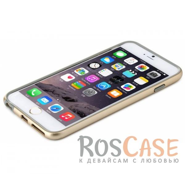 фото бампер ROCK Duplex Slim Guard для Apple iPhone 6/6s plus (5.5